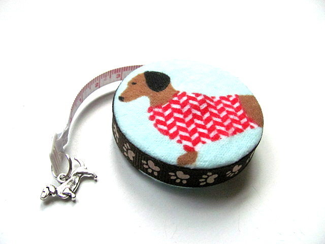 Measuring Tape Sweater Dachshunds Dogs Retractable Tape Measure