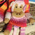 Hand Knitted Children's Monkey Scarf - FREE SHIPPING