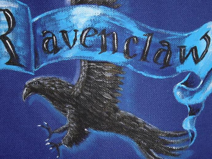Ravenclaw House bag great for e-reader, nook, or kindle