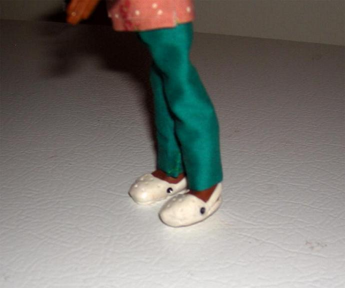 Nurse in One Inch Dollhouse Scale