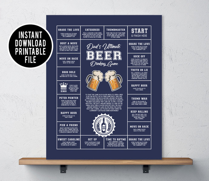 Gifts for dad, Last minute gift for dad, Beer Decor, gifts for him, beer