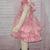 Pink Romper, Baby Pink Romper, Ruffle Romper, Baby Bubble Romper, Vintage Style