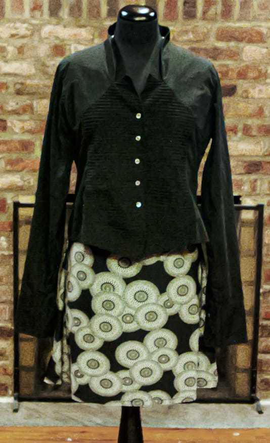 Beautiful black blouse, all seasons