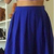 Sexy Royal Blue Two Piece Prom Dress,  Satin Short Homecoming Dress