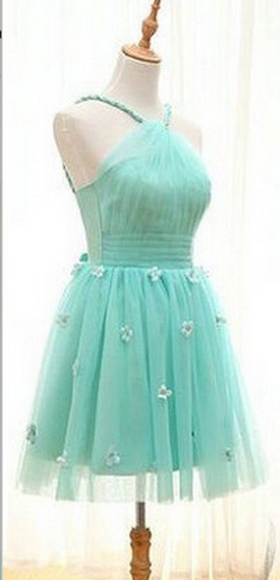 Elegant Short Party Dress, Mini Cocktail Dress