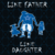 like father like daughter svg, dad svg, father day svg, png,dxf