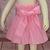 Pink Girl Skirt, Pink Polka Dots Girl Skirt, Pink and White Skirt, Polka Dots