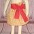 Yellow Girl Skirt, Strawberry Skirt, Girl Skirt, Yellow and Red Skirt, Cotton