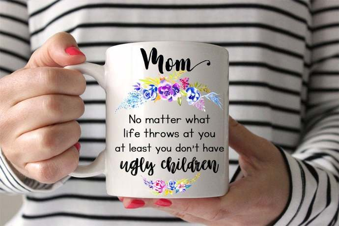 Personalized Coffee Mug  Funny Mom Gift Personalized for Her Personalized