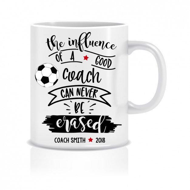 Soccer Coach appreciation coffee mug coach gift baseball football basketball
