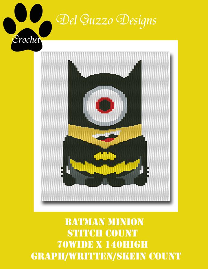 Minion Batman 70x140