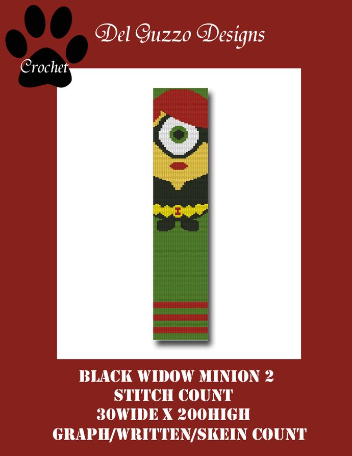 Minion Black Widow 30x200 Scarf