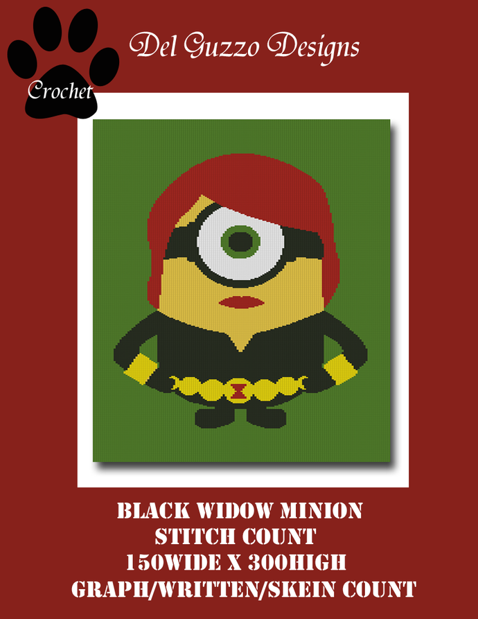 Minion Black Widow 150x300 Twin Size