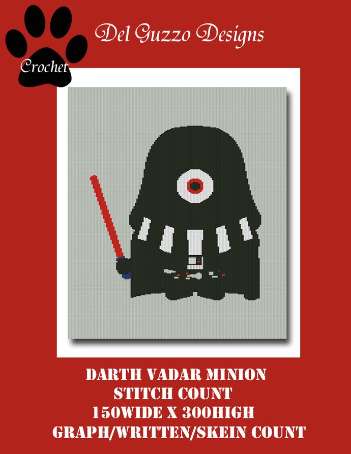 Minion Darth Vader 150x300 Twin Size