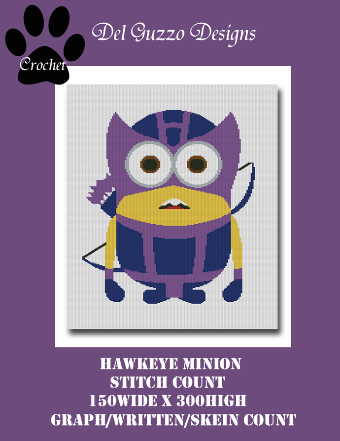Minion Hawkeye 150x300 Twin Size