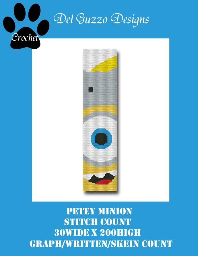 Minion Petey 30x200 Scarf