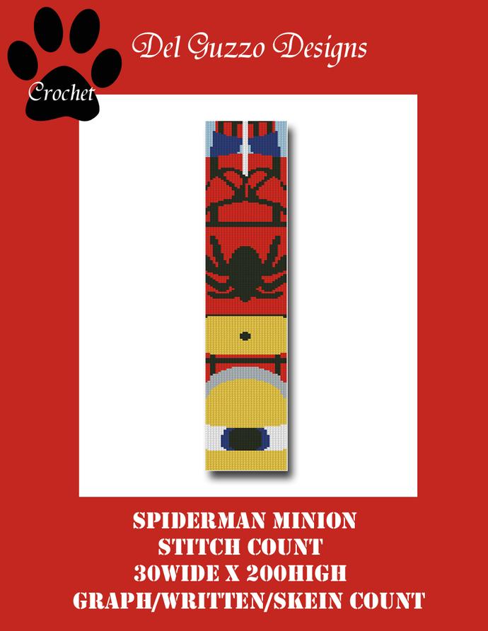 Minion Spiderman 30x200 Scarf