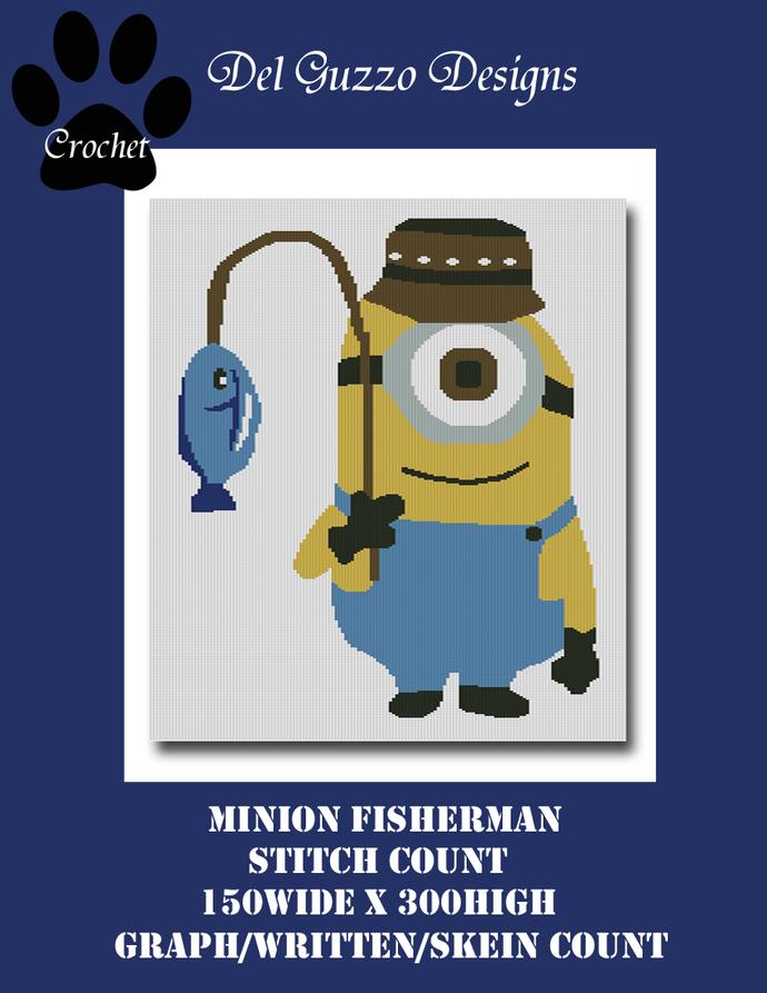 Minion Fisherman 150x300 Twin Size