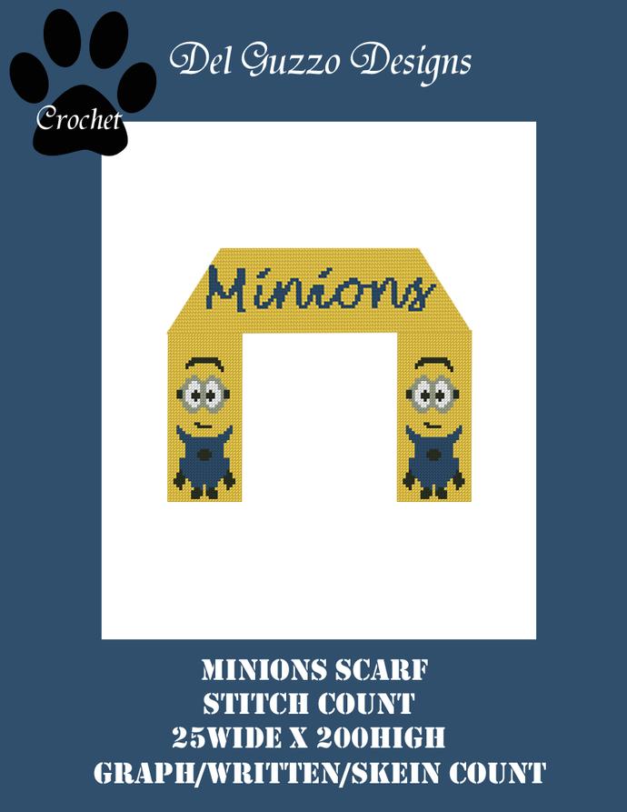 Minion Scarf 200x25