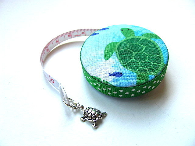 Tape Measure Green Turtles Retractable Tape Measure