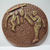 Large One-Piece 1930's Celluloid Football Players Button