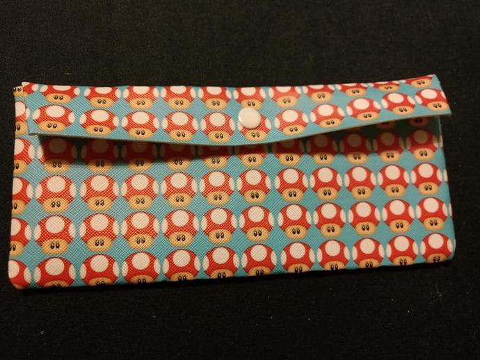 Mario mushroom wallet/pouch