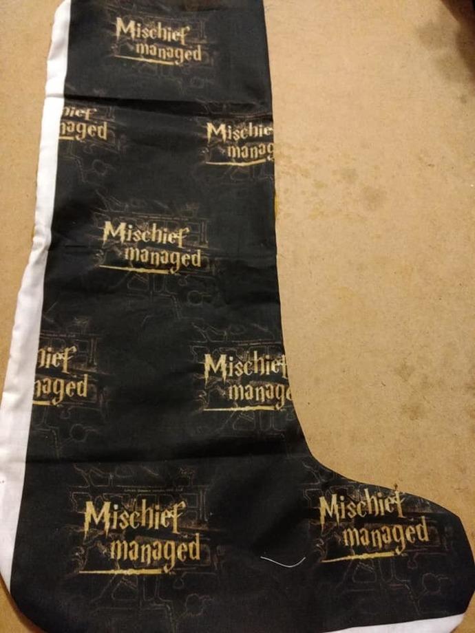 Mischief Managed stocking