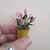 Miniature Potted Plant - Handmade