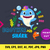 Baby Shark Brother  INSTANT DOWNLOAD (SVG, eps, dxf, ai, pdf, jpg, png, cutting