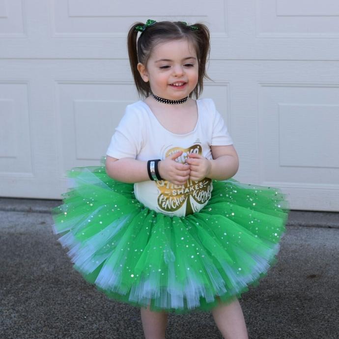 Green Sparkle Tutu - Kids Tutu - Adult Tutu