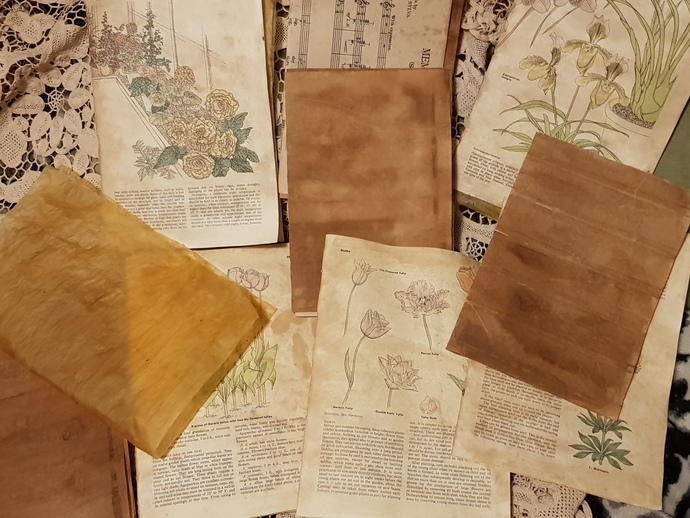 Vintage Journal pages (36)