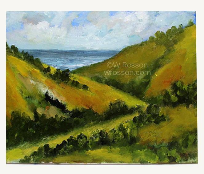 Beach Trail, Original Painting, Original Art, Home Decor, Office Decor, Beach