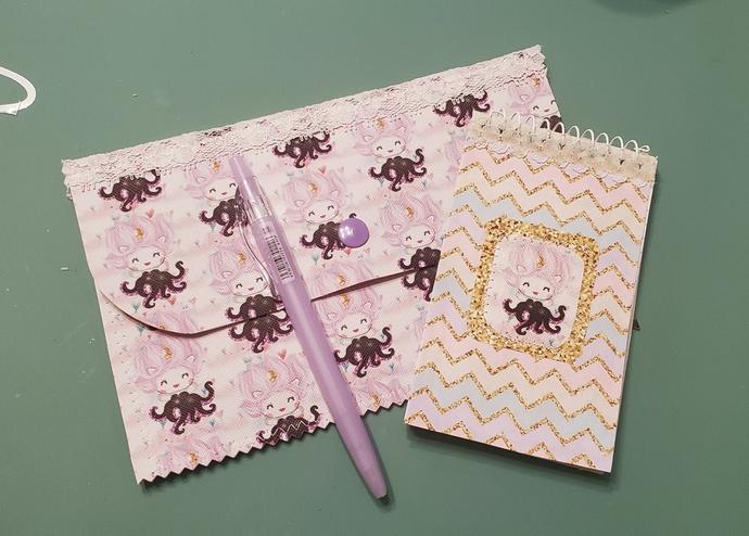 Ursula canvas pouch set