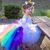 High-Low Unicorn Rainbow Tutu - Unicorn Birthday Tutu - Kids Tutu