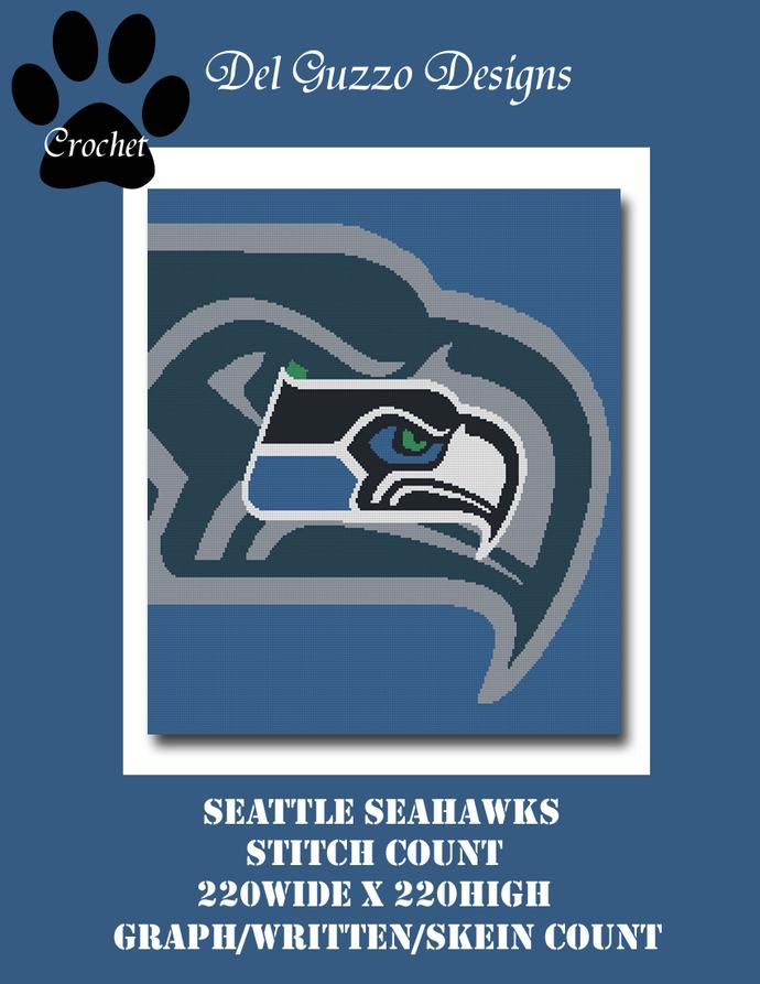 Seattle Seahawks 220x220 Queen Size