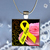 Pendant Necklace Awareness Spina Bifida