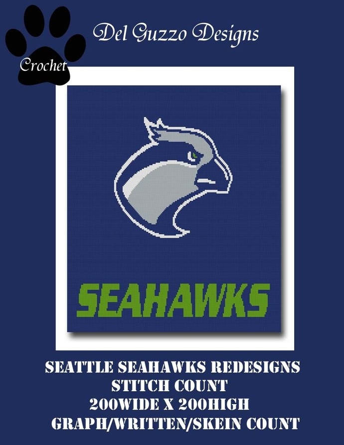 Seattle SeaHawks Redesign 200x200 Full Size