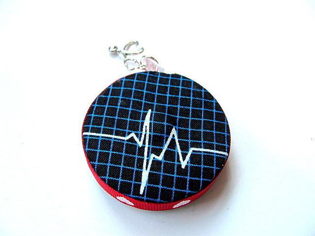 Tape Measure for Doctors and Nurses EKG Small Retractable Measuring Tape