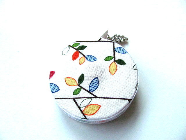 Tape Measure Colorful Leaves and Birds Small Retractable Measuring Tape