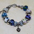 European Murano Lampwork Glass Bracelet
