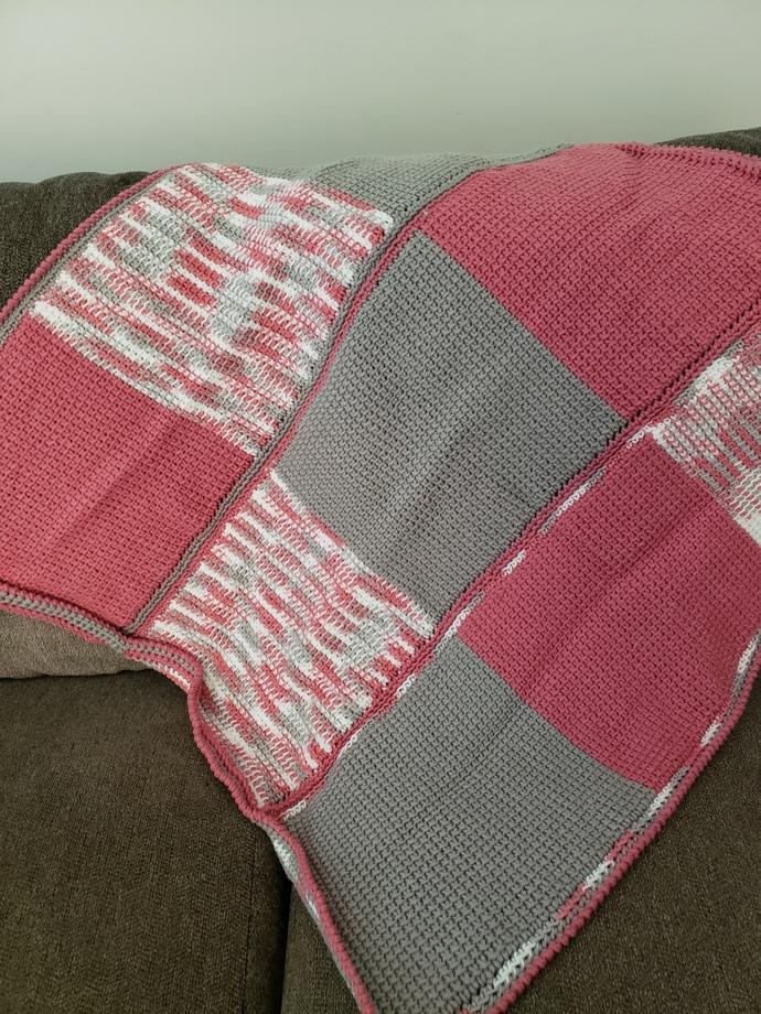 Baby blanket 3 panels