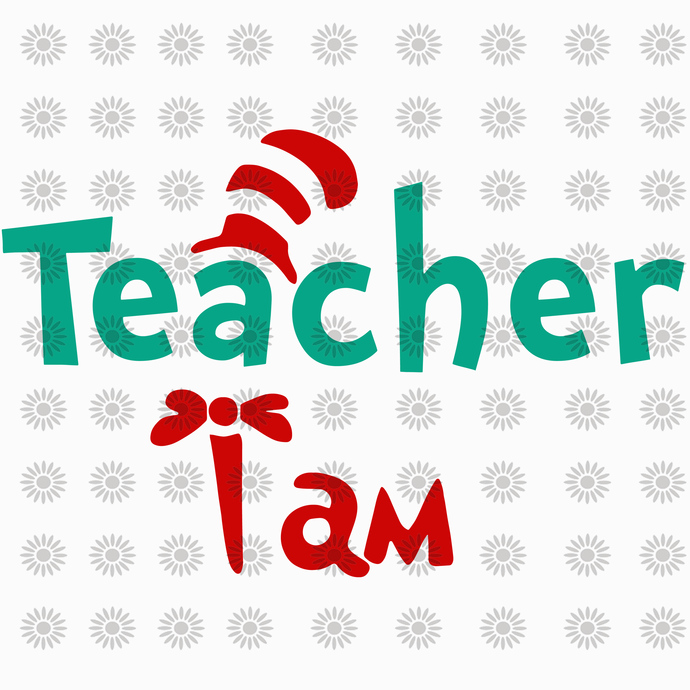 Teacher i am svg,dr.seuss svg, Cat in hat,Thing one thing two,dr.seuss svg,thing
