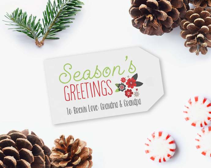 EDITABLE Christmas gift tags Printables, Christmas Gift Tags, Printable