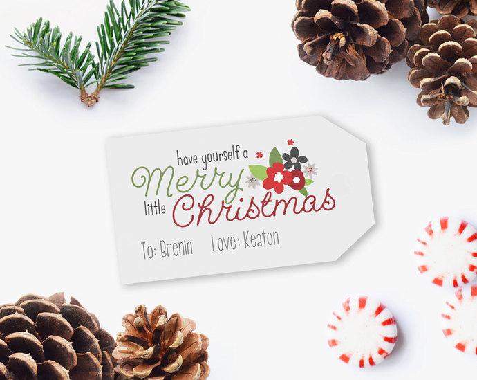 Printable Christmas Gift Tags, Christmas Gift Tags, Gift Tag Printables,