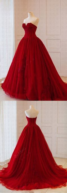 Spring Strapless Long V Neck High Waist Evening Dress, Tulle Occasion Dresses