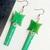 a. Eleven Dangle Earrings