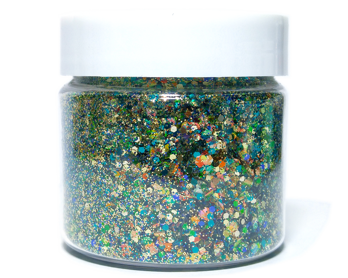 Swamp Thing - Metallic Chunky Loose Glitter Mix