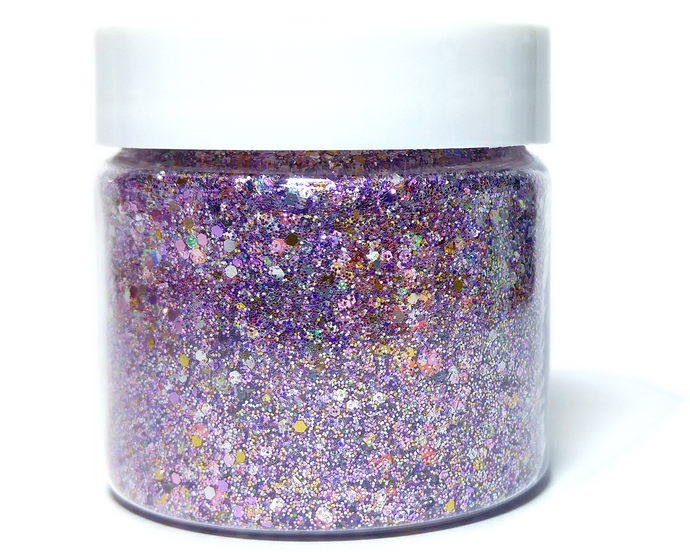 Mauve After Party - Metallic Chunky Loose Glitter Mix