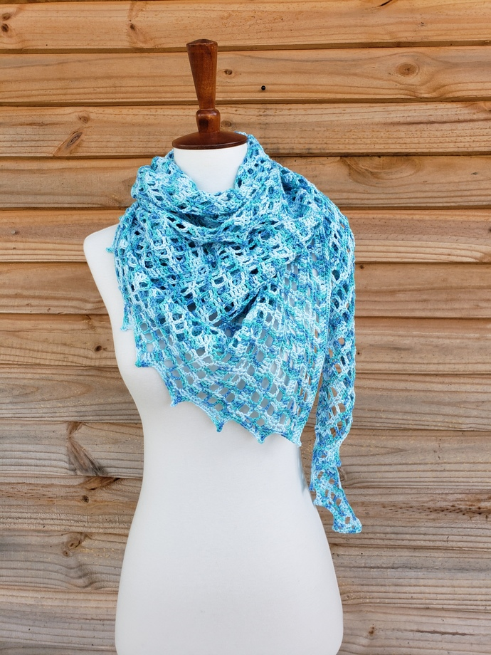 Beach wrap women, large crochet shawl wrap, mom birthday gift from daughter,