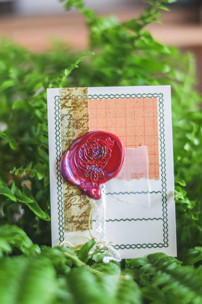 London Gifties wax seal - Peony - perfect as a gift for yourself & your